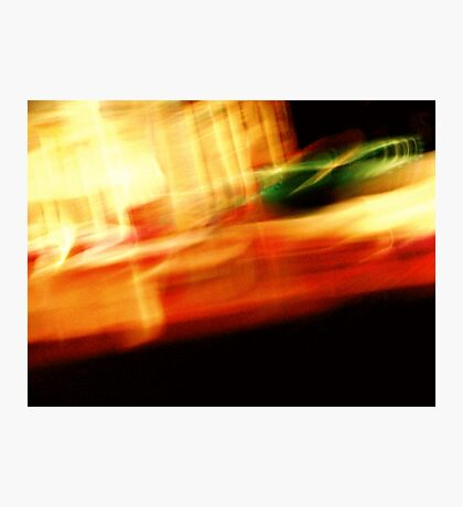 The Crap On My Coffee Table: Fun With Shutter Speed Photographic Print