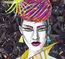 Vintage Punk by SRowe Art