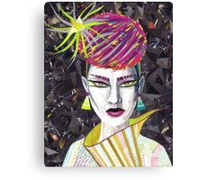 Vintage Punk Canvas Print
