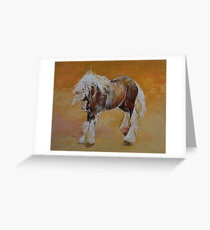Gypsy Pony Greeting Card
