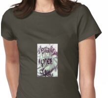 international womens day 1986 Womens Fitted T-Shirt