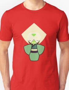 Peridot Kokeshi Doll Unisex T-Shirt
