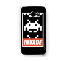 OBEY STYLE SPACE INVADER Samsung Galaxy Case/Skin