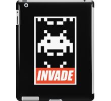 OBEY STYLE SPACE INVADER iPad Case/Skin