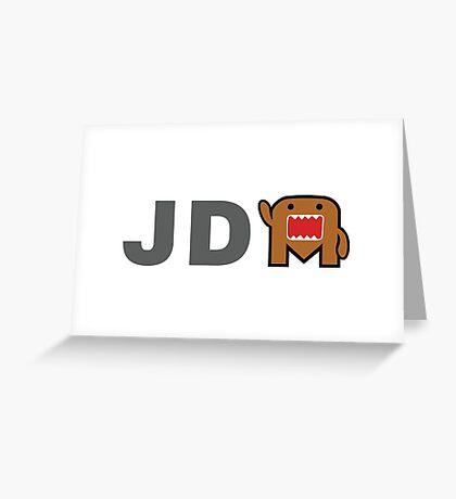 JDM Domo monster Greeting Card