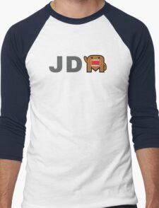 JDM Domo monster Men's Baseball ¾ T-Shirt