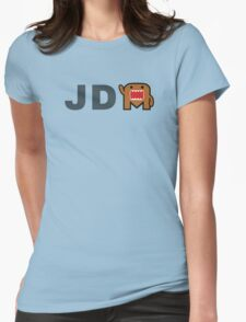 JDM Domo monster Womens Fitted T-Shirt