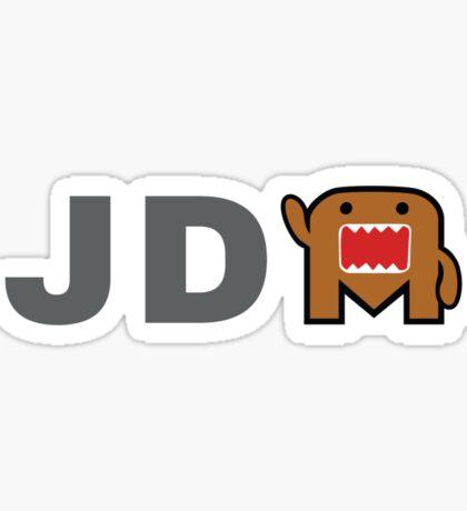 JDM Domo monster Sticker