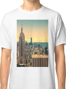 The manhattan skyline Classic T-Shirt