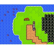 Gameboy Color Styled RPG Photographic Print