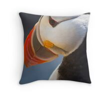 Puffin, Westfjords, Iceland, Cover Throw Pillow
