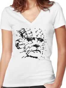 Pinhead - Hellraiser Women's Fitted V-Neck T-Shirt
