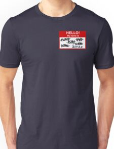 An agent by any other name Unisex T-Shirt