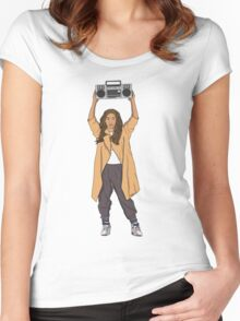 Beyonce Anything Women's Fitted Scoop T-Shirt