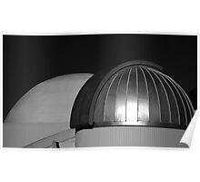 Planetarium Domes Poster