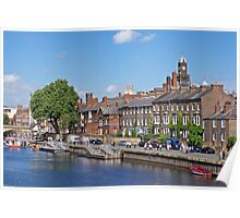The River Ouse. Poster