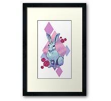 Uni-hare Framed Print