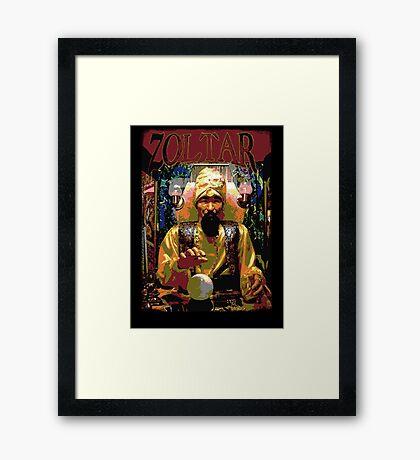 BIG - Zoltar Framed Print