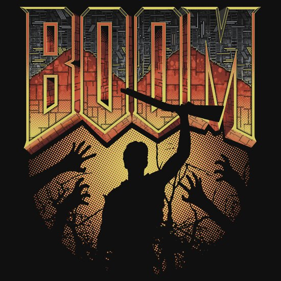 TShirtGifter presents: This is my Boomstick T-shirt