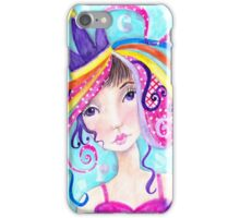 Whimiscal Party Girl iPhone Case/Skin