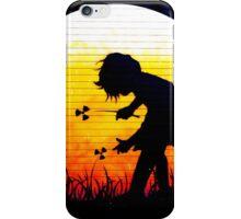 brick lane graffiti nuclear girl iPhone Case/Skin
