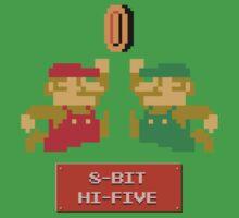 8-Bit Hi-Five Kids Tee