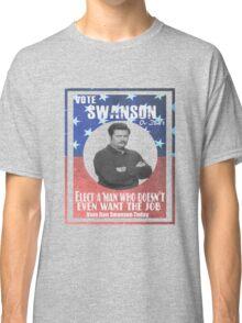 Vote ron swanson! Classic T-Shirt
