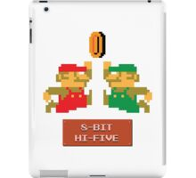 8-Bit Hi-Five iPad Case/Skin
