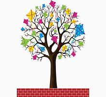 kites tree-different thinking of mind Unisex T-Shirt