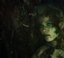 Dryad Nymph Forest Spirit Girl Green Nature by LeonieFietz