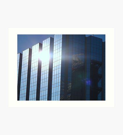 Corporate Reflections Art Print