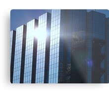 Corporate Reflections Metal Print