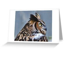 Who! Greeting Card