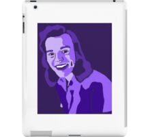 Purple Harry Styles iPad Case/Skin