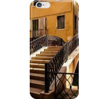Impressions of Venice - Wandering Around Backstreets and Small Canals iPhone Case/Skin