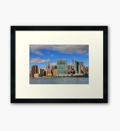 Manhattan - Gantry Plaza Framed Print