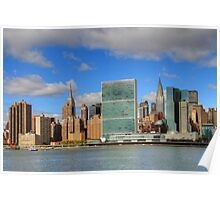 Manhattan - Gantry Plaza Poster