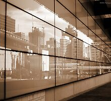 Reflections - Brisbane City by Jordan Miscamble