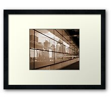 Reflections - Brisbane City Framed Print