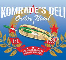 Komrade's Deli by outofthedust