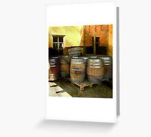 Lock, Stock and Barrels Greeting Card