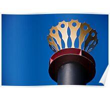 Paddle Wheeler Smokestack Poster