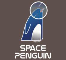 Space Penguin Baby Tee