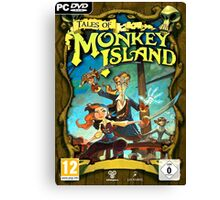 Tales of Monkey Island Canvas Print