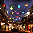 Chinese lanterns - Harbour Town by Robyn Lakeman