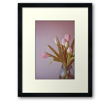 Still Life with Tulips Framed Print