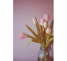 Still Life with Tulips Photographic Print