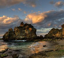 Sunrise at The Crags by Heather Prince