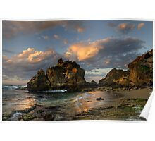 Sunrise at The Crags Poster