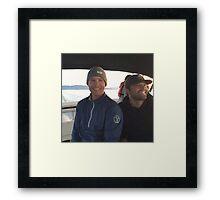 Boat Day Framed Print